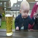 Создать Пьяный ребенок - Мем Мем